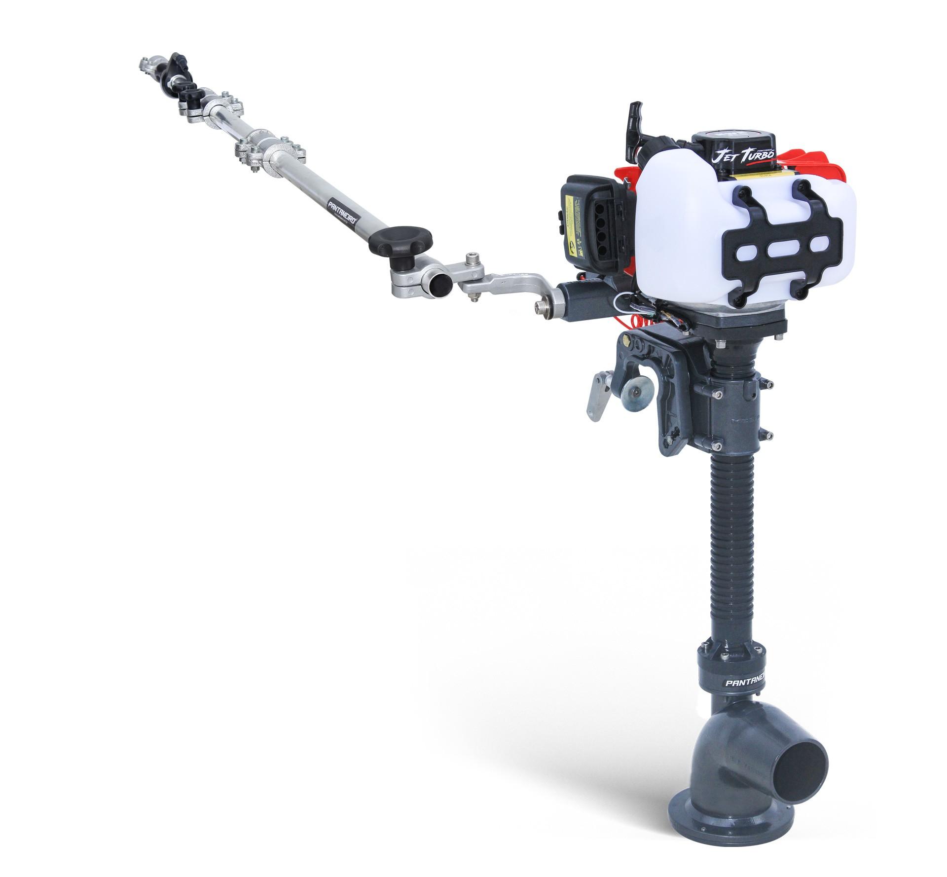 Motor para Caiaque Jet Turbo Cut com haste aceleradora e embreagem