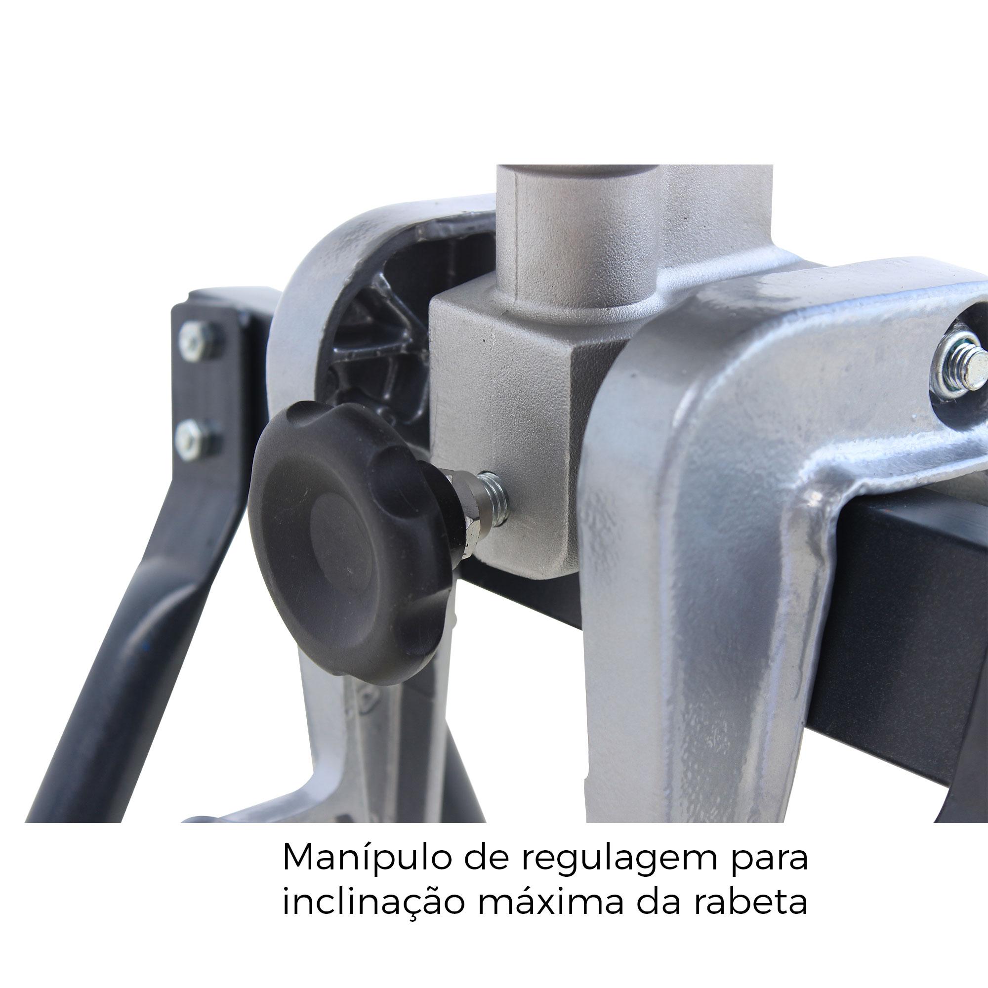 Rabeta Master Plus Marinizada* 2,20m P/ Motor 5,5/6,5 E 7hp