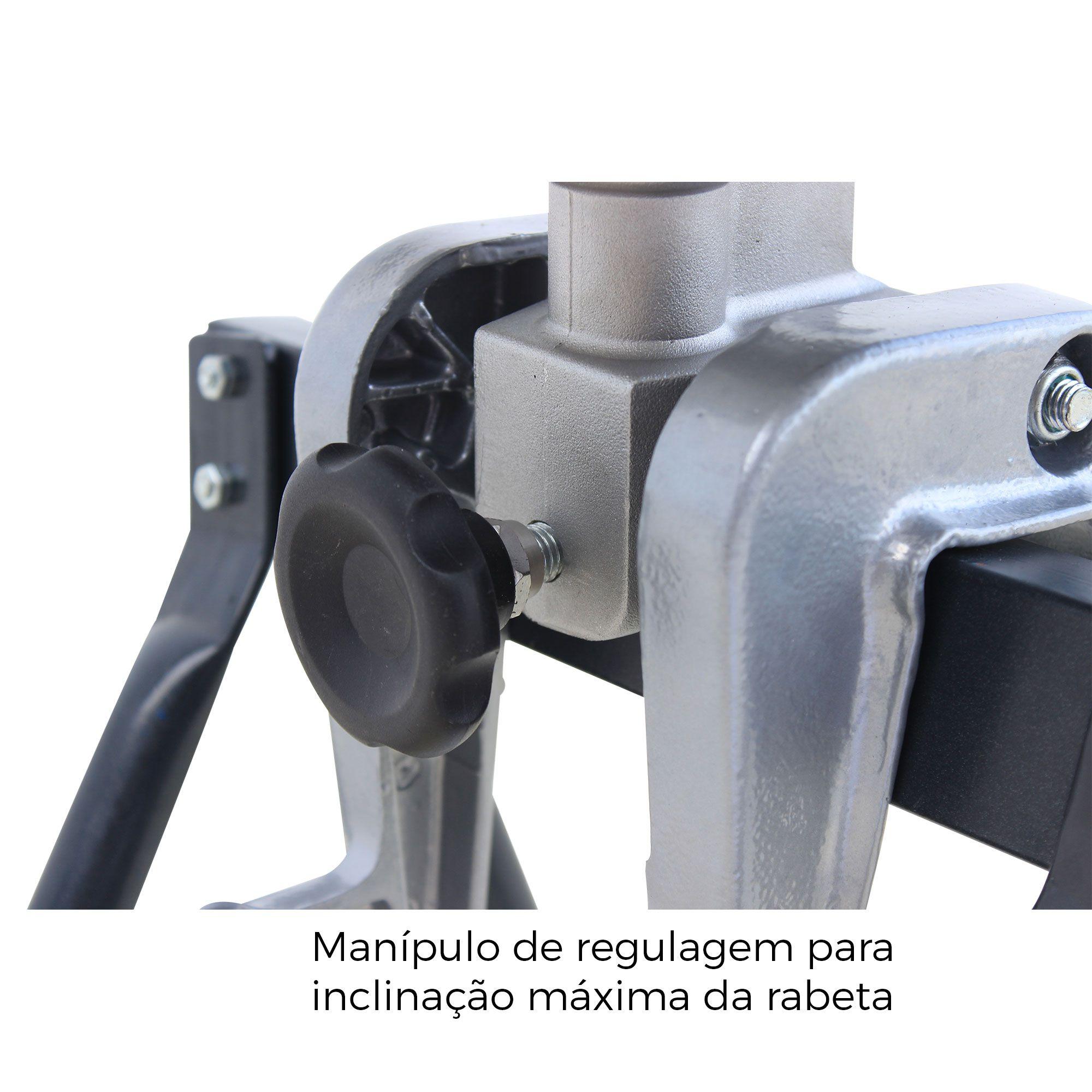 Rabeta Master Plus Pantaneiro 2,20 metros para motores 5,5/6,5 e 7HP (Sem motor)