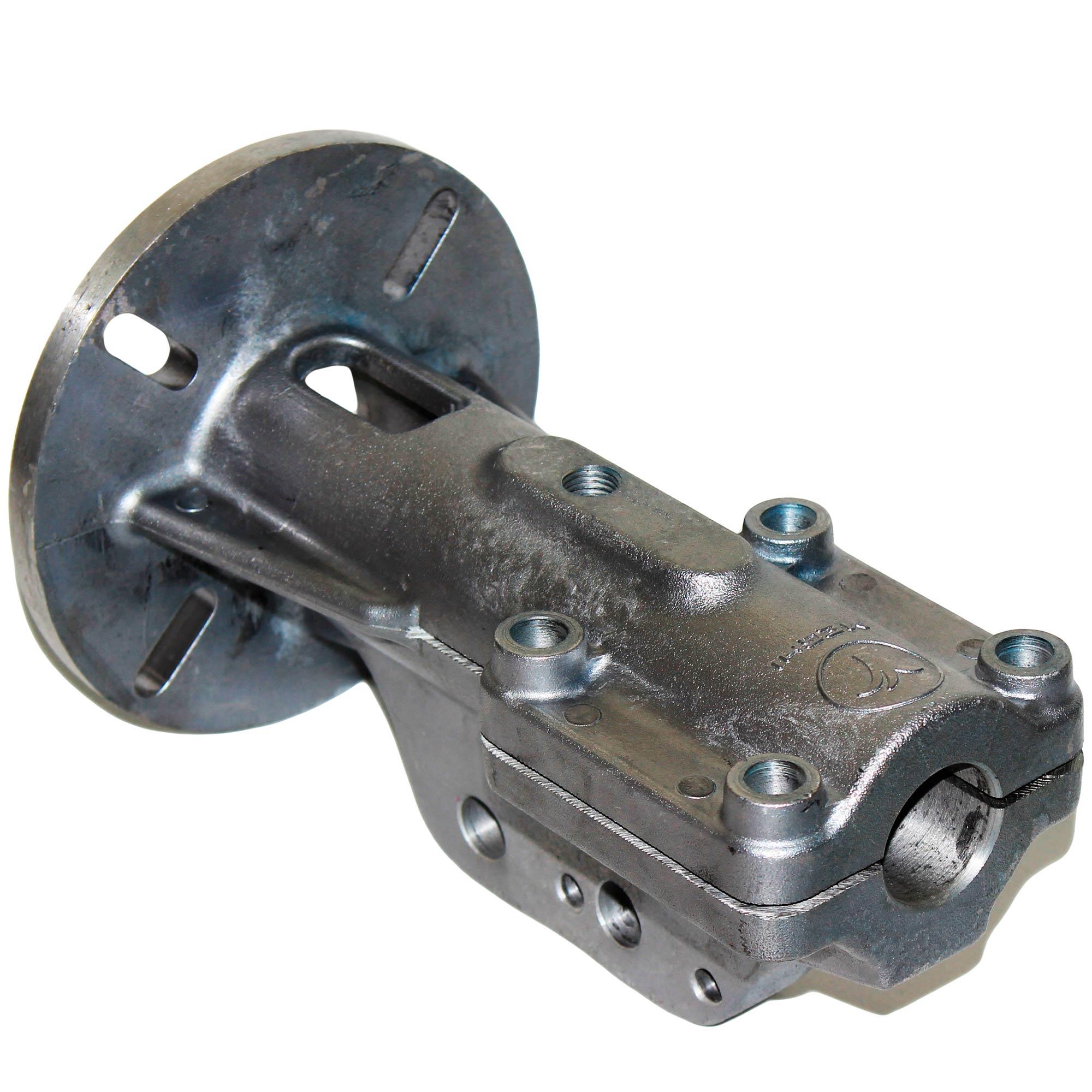 Suporte Motor Tubo de Alumínio c/ Nervura