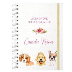 Agenda personalizada 2020 cachorro
