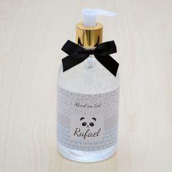 Álcool em gel antisséptico para mãos decoração para o quarto do bebê tema panda 500 ml