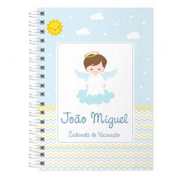 Caderneta de Vacinação Personalizada anjinho