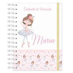 Caderneta de Vacinação personalizada bailarina