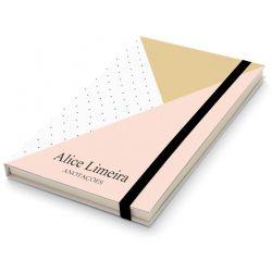 Caderninho Moleskine Personalizado - Moderno