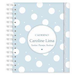 Caderno Personalizado Bolinhas