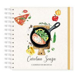 Caderno de Receita  tradicional