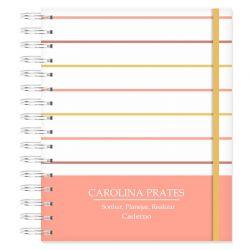 Caderno  Personalizado Listras