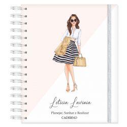 Caderno personalizado Girls