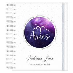 Caderno personalizado Signo de Áries
