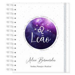 Caderno personalizado Signo Leão