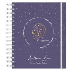 Caderno personalizado Signos de  Virgem