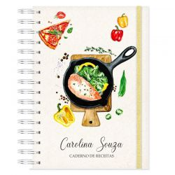 Caderno de Receitas Personalizado
