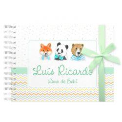 Livro do Bebê Personalizado animais