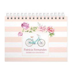 Diário  da Gratidão  personalizado bike