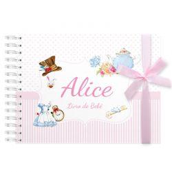 Livro do Bebê Alice no país das maravilhas