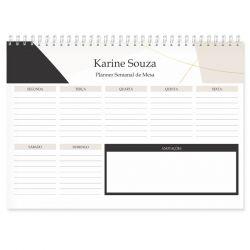 Planner de Mesa Semanal
