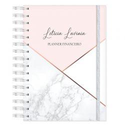 Planner Financeiro - Rosa