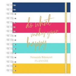 Planner Permanente Personalizado Listras