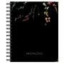 Caderno de Anotações - Floral latino