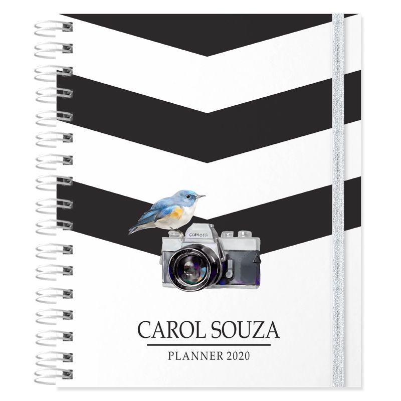 Planner 2020 personalizado tema fotografia  - Valentina Milan Lembrancinhas e Papelaria