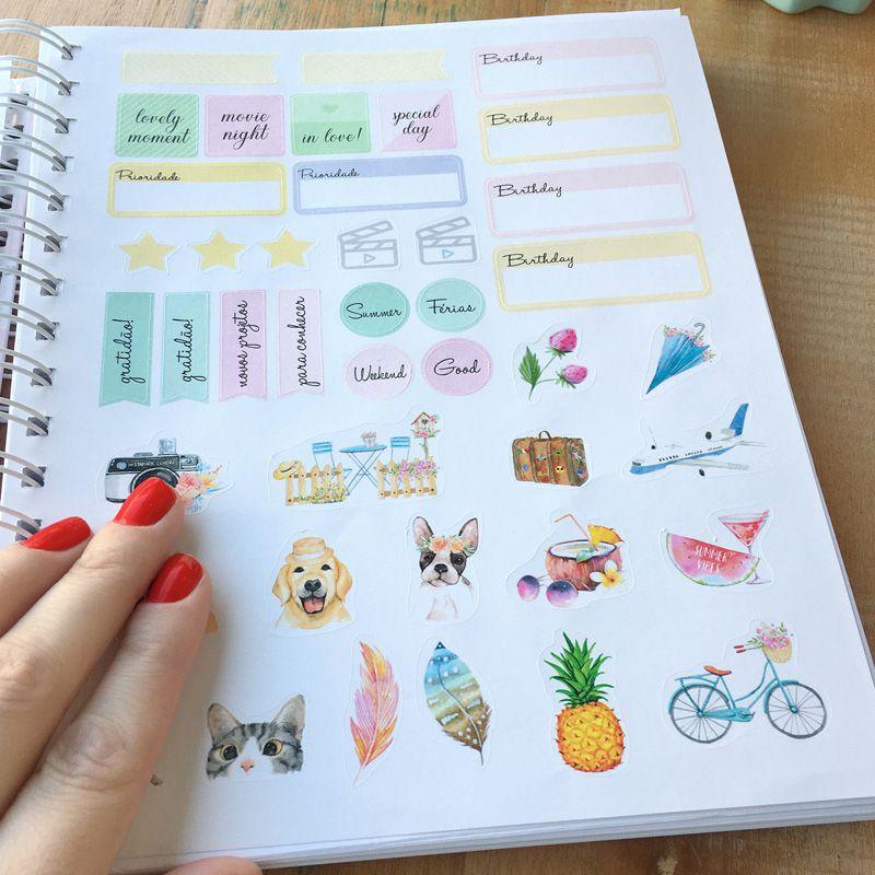 Planner 2020 personalizado tema gratidão  - Valentina Milan Lembrancinhas e Papelaria