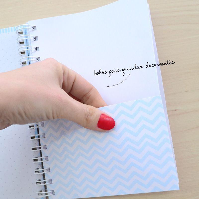 caderneta de Vacinação Personalizada menina bichinhos safari  - Valentina Milan Lembrancinhas e Papelaria