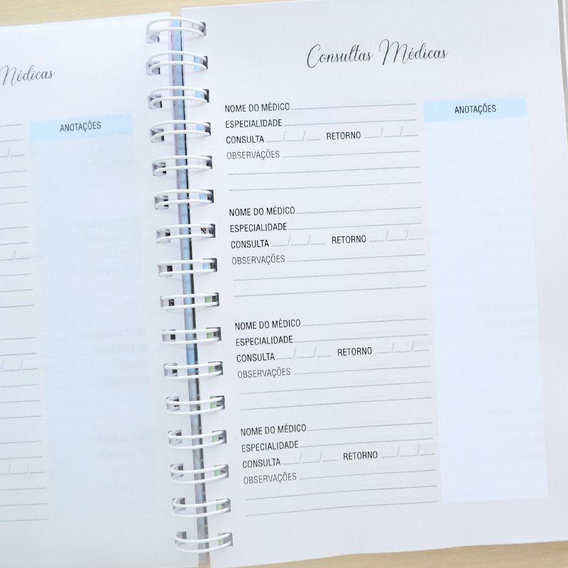 Caderneta de Vacinação Personalizada menina unicórnio  - Valentina Milan Lembrancinhas e Papelaria