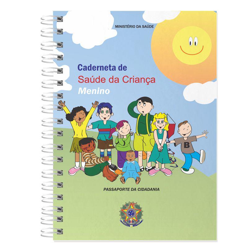 Caderneta de Vacinação Personalizada ursinho azul claro  - Valentina Milan Lembrancinhas e Papelaria