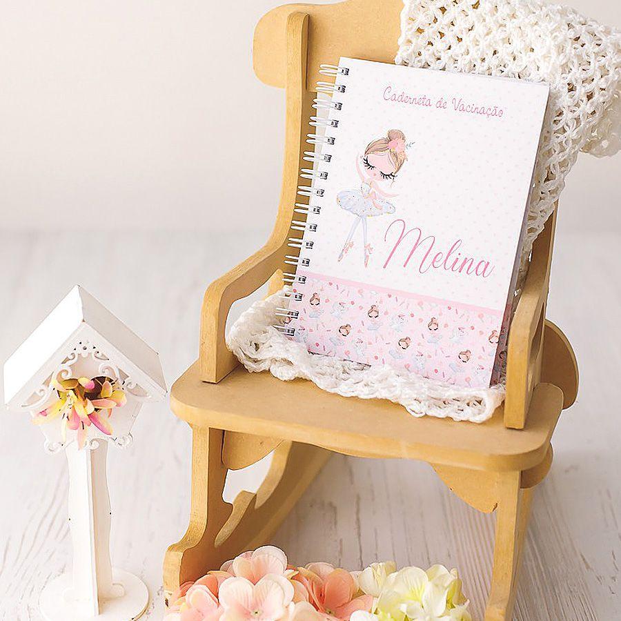 Caderneta de Vacinação personalizada   - Valentina Milan Papelaria