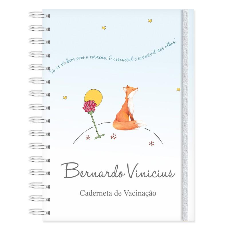 Caderneta de Vacinação personalizada Pequeno Príncipe