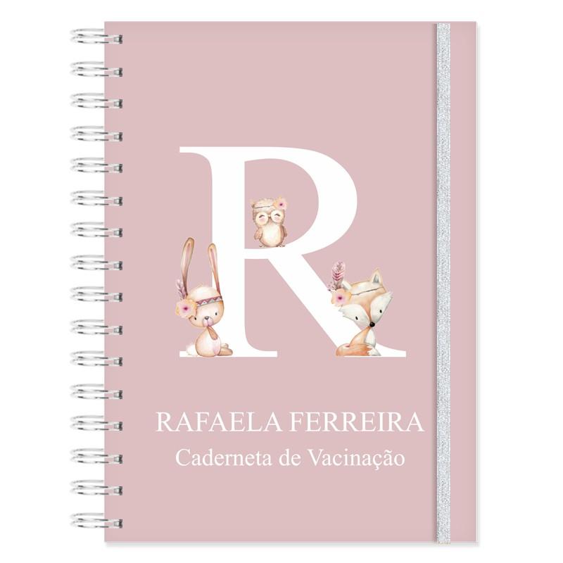 Caderneta de Vacinação Bichinhos da Floresta - Raposinha