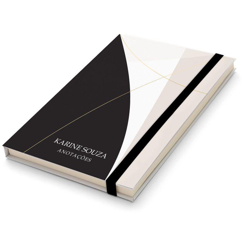 Caderninho Moleskine Personalizado - Elegante