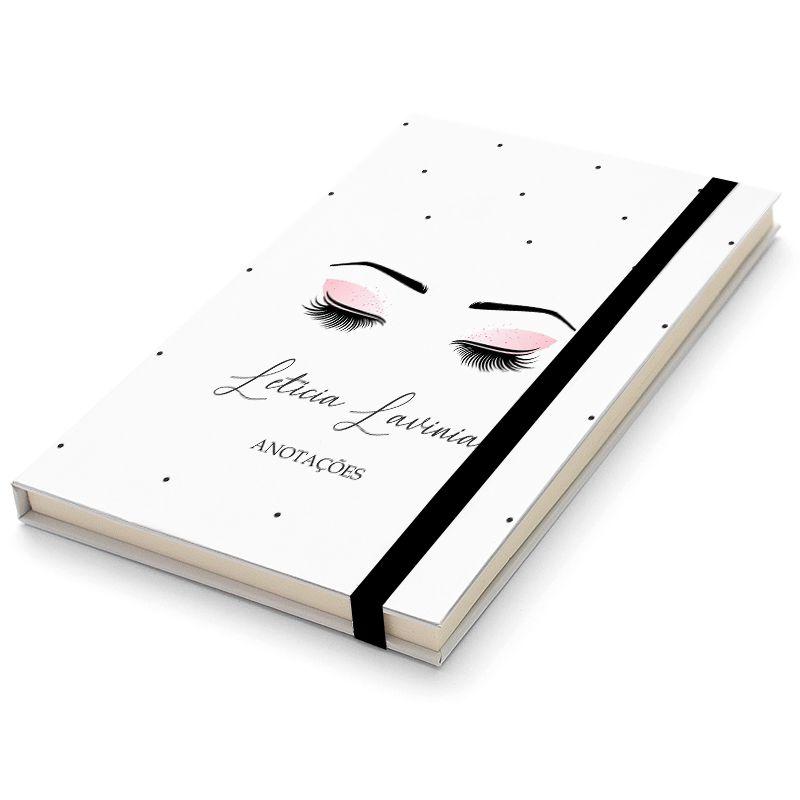 Caderninho Moleskine Personalizado - Beleza Feminina