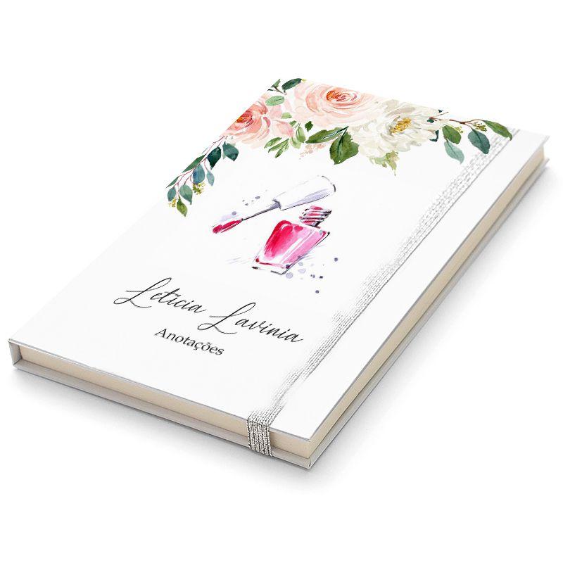 Caderninho Moleskine Personalizado  - Manicure