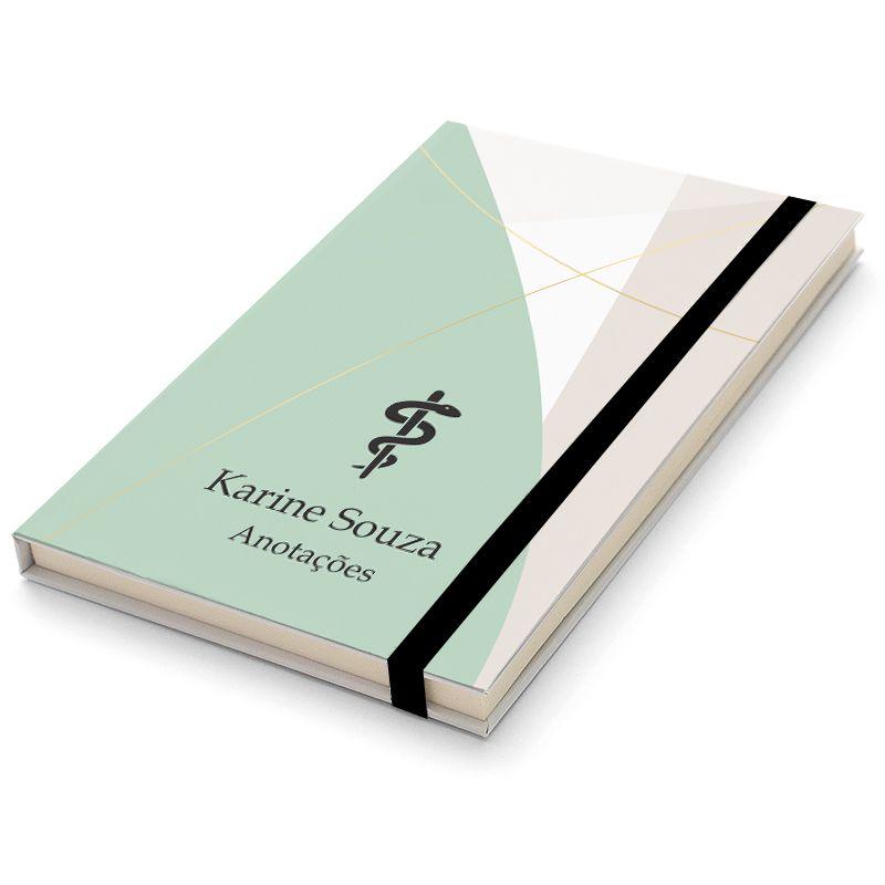 Caderninho Moleskine Personalizado - Medicina