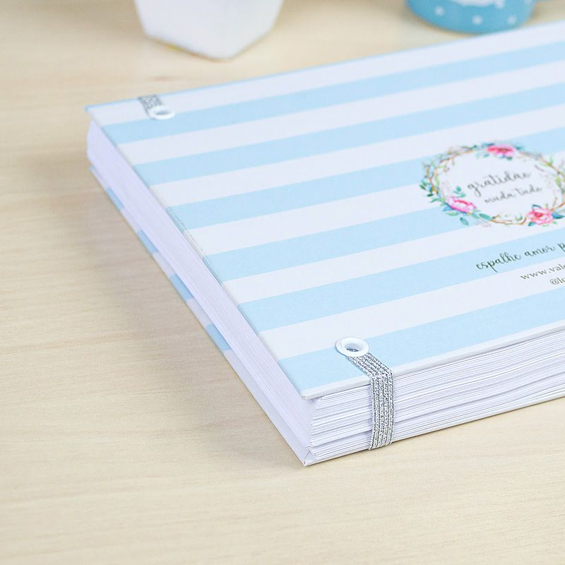 Caderno da Gratidão - Agradecer  - Valentina Milan Papelaria