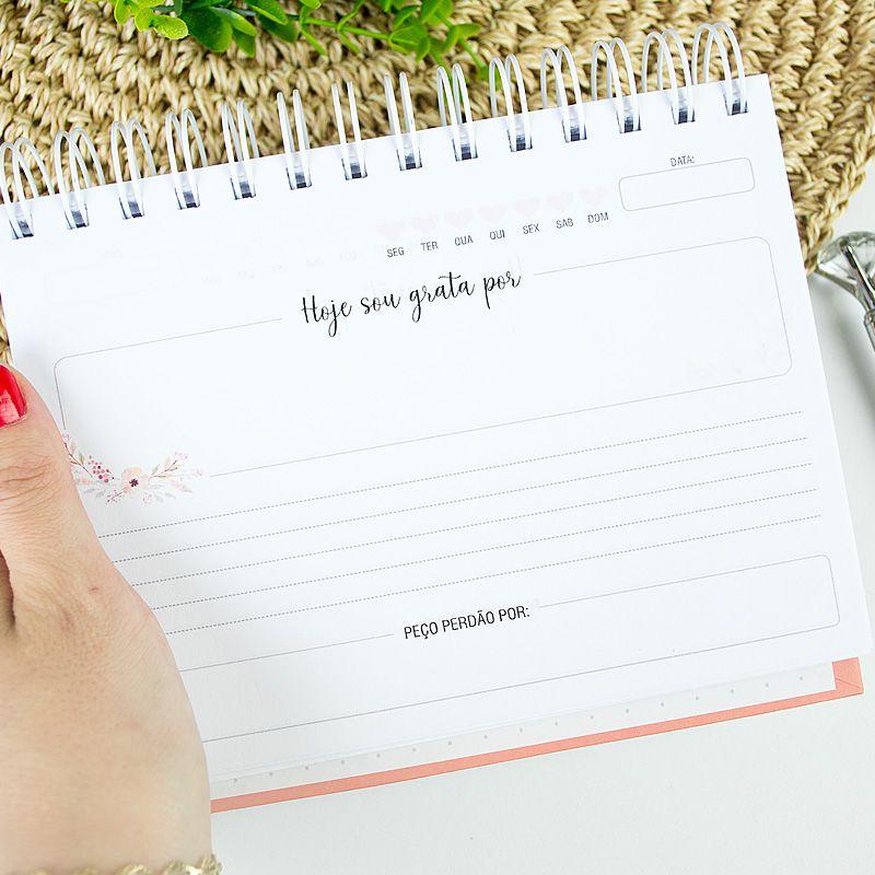 Caderno da Gratidão personalizado   - Valentina Milan Papelaria