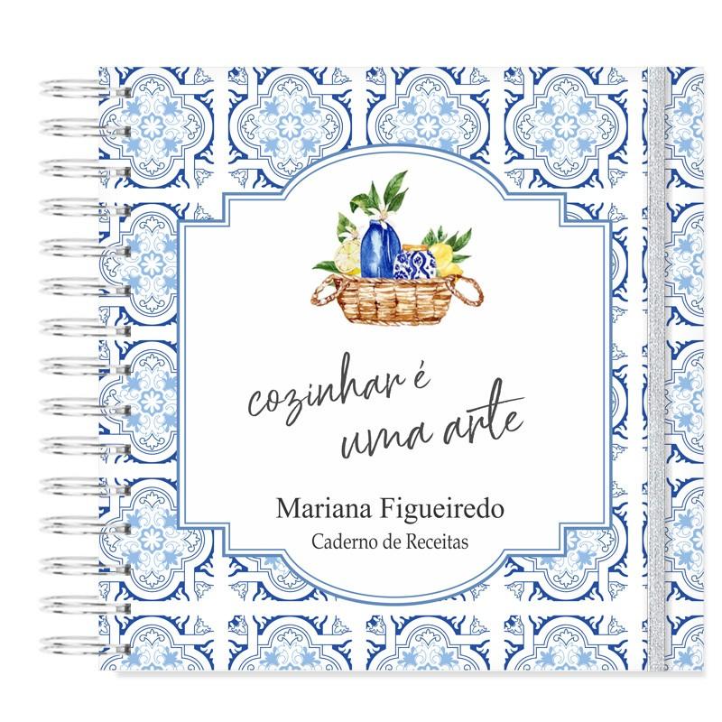 Caderno de Receitas - Azulejo Portugues