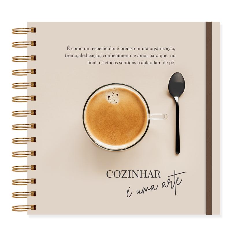 Caderno de Receitas Cappuccino