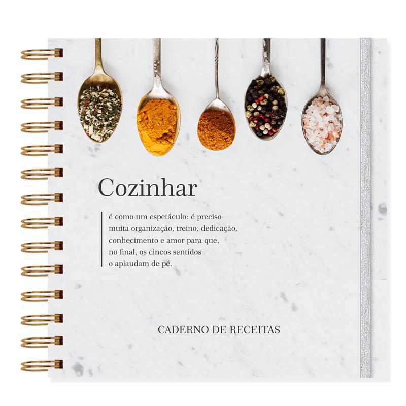 Caderno de Receitas Especiarias
