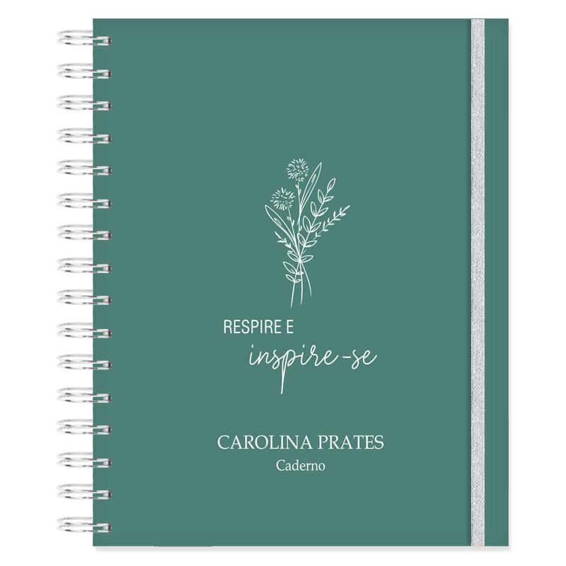 Caderno personalizado Bothanic