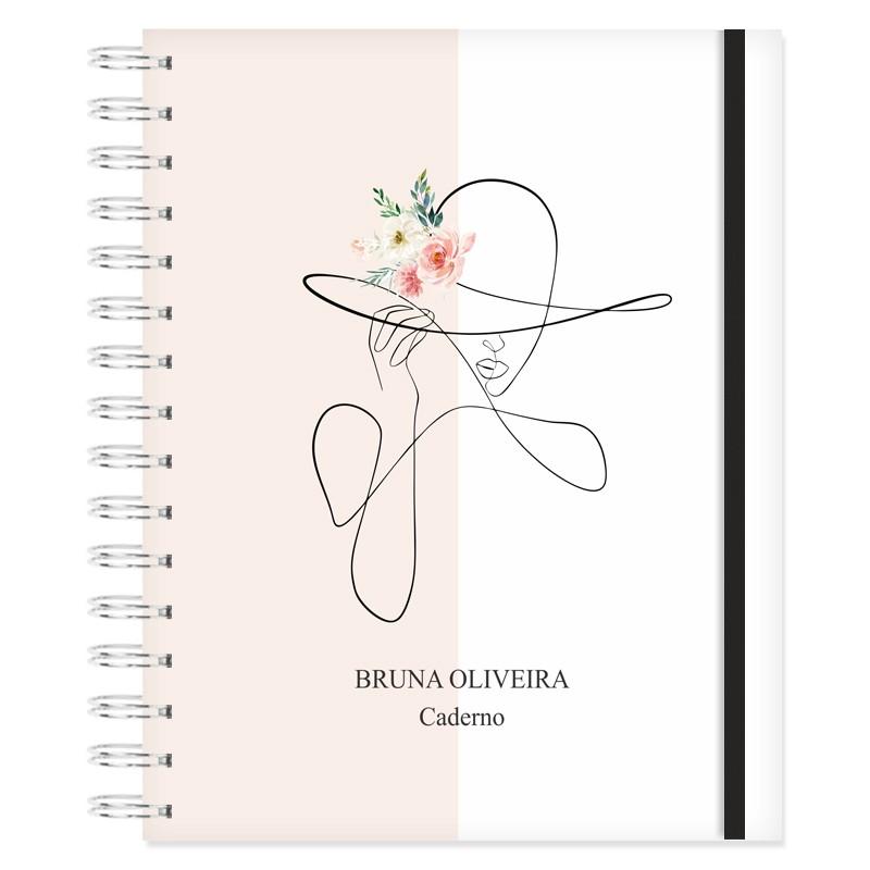 Caderno personalizado Inspire-se