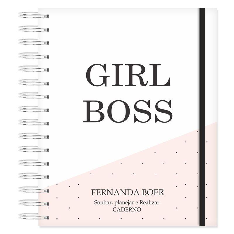 Caderno personalizado - Girl Power