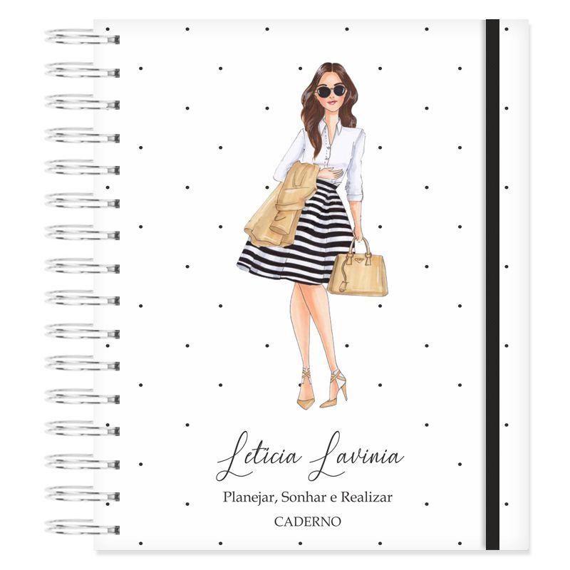 Caderno personalizado - Mulher Empoderada