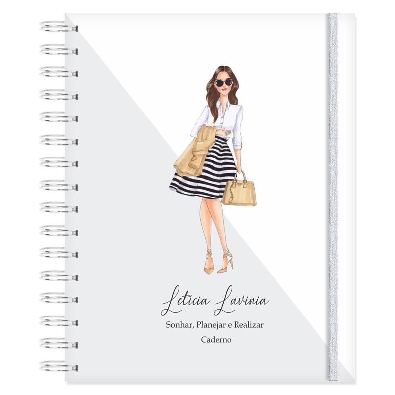 Caderno personalizado - Mulheres que Brilham