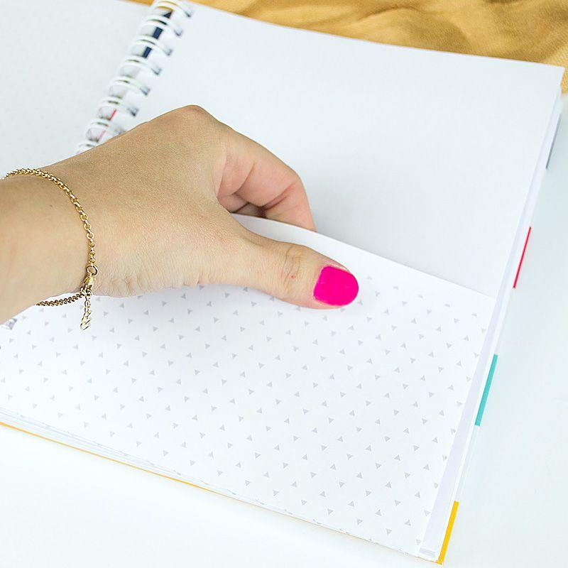 Caderno personalizado Signo Aquário  - Valentina Milan Papelaria