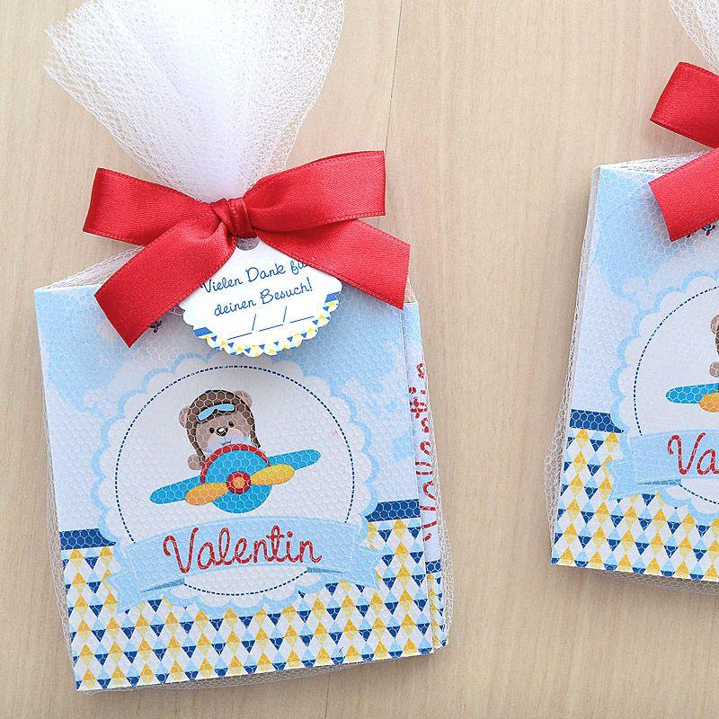 Lembrancinha de bebê maternidade e nascimento bloquinho de anotações tema ursinho aviador  - Valentina Milan Lembrancinhas