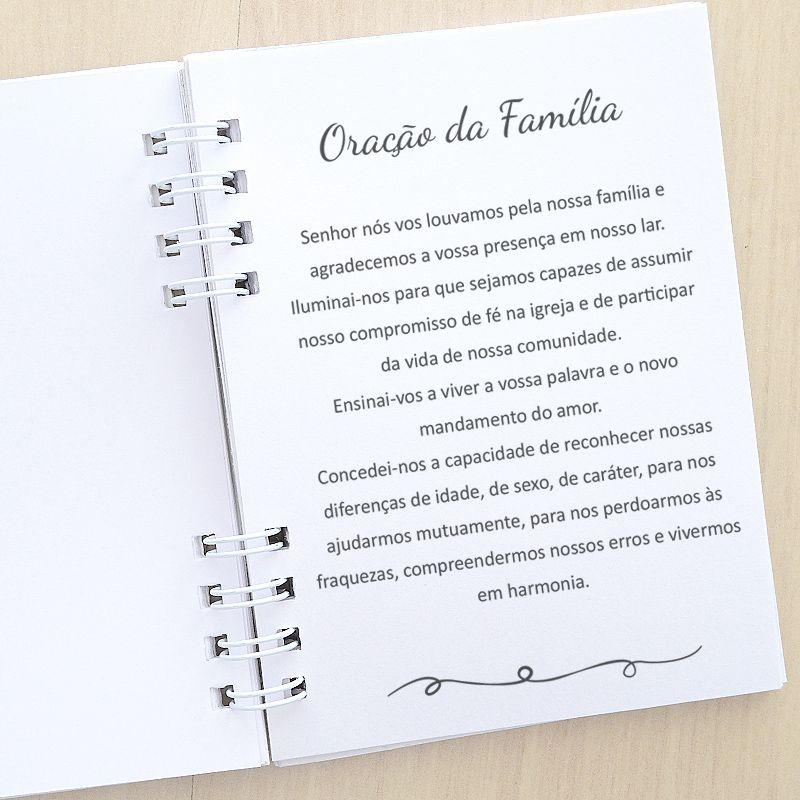 Lembrancinha livrinho de orações e salmos com mini terço tema ovelhinha  - Valentina Milan Lembrancinhas
