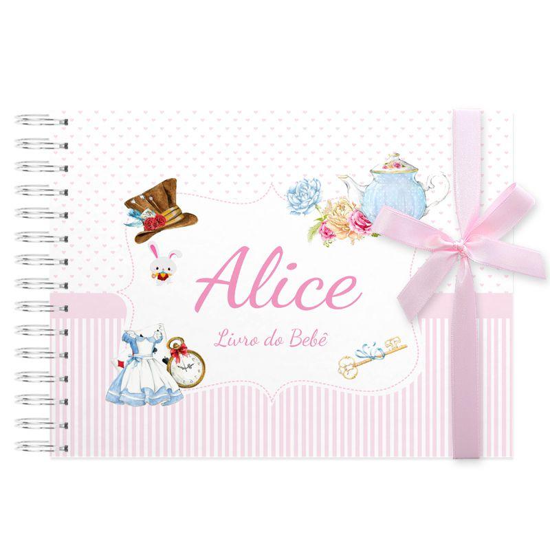 Livro do Bebê Alice no país das maravilhas  - Valentina Milan Papelaria